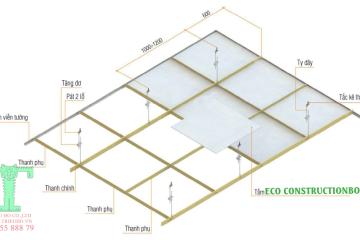 Tấm Trần Cách Nhiệt ECO XPS FOAM – Xốp XPS