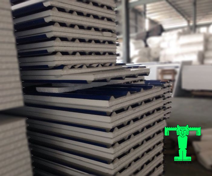Tôn cách nhiệt EPS mang lại thẩm mỹ cho mái và toàn bộ công trình