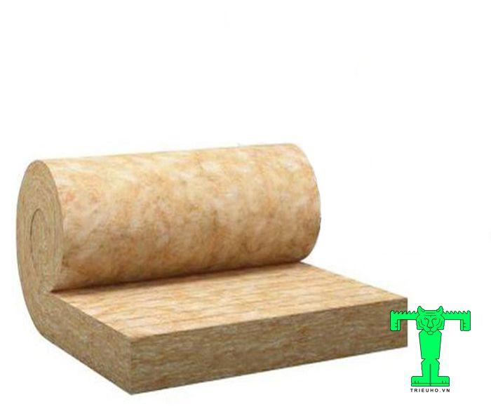 Bông khoáng 80kg/m3 dày 100mm có tiêu chuẩn chống cháy cấp độ A – cao nhất