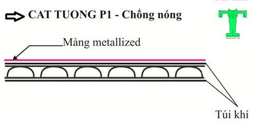 Cấu tạo của túi khí P1 Cát Tường
