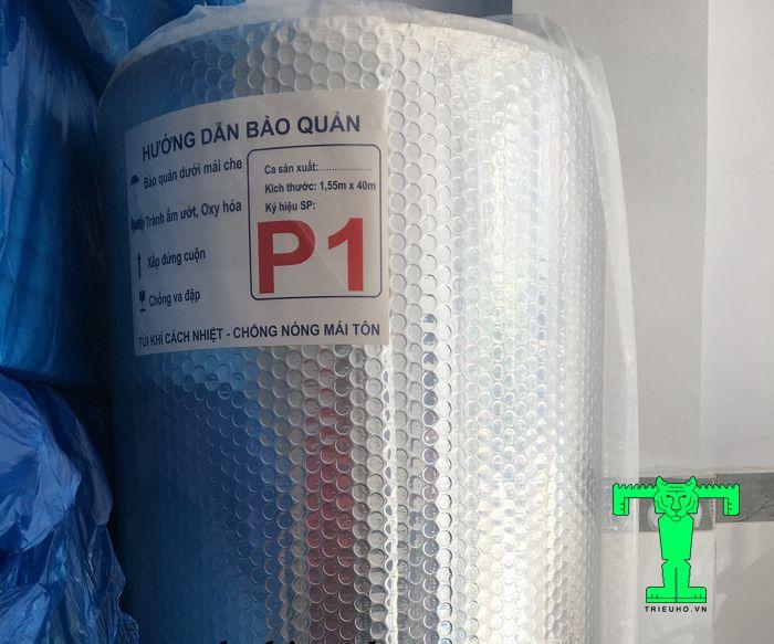 Túi khí P1 Cát Tường ngoài khả năng cách nhiệt còn có thể cách âm, giảm rủi ro cháy hiệu quả