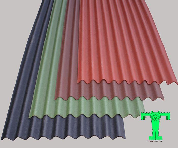 Tấm lợp Onduline dày 2.8mm được làm từ hỗn hợp nhựa Bitum và sợi cơ tổng hợp sản xuất theo công nghệ cao của Pháp