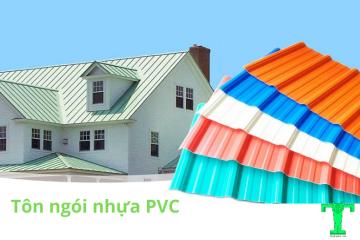 Tôn nhựa PVC, tôn nhựa giả ngói, ngói nhựa PVC giá tốt | Triệu Hổ
