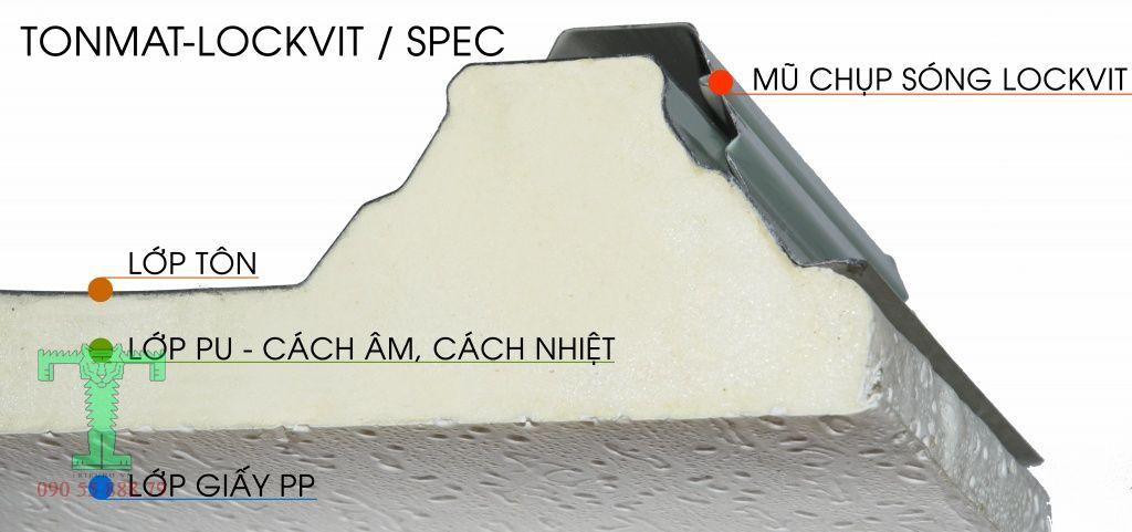 Cấu tạo tôn cách nhiệt chống nóng 3 lớp, tôn xốp