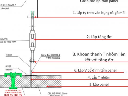 thi cong panel tran vach