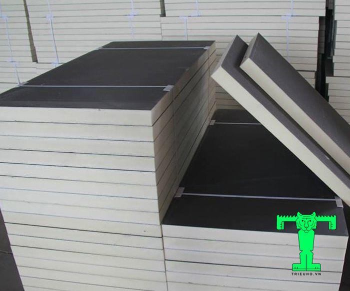 Tấm xốp PU dạng tấm có cấu tạo 3 lớp