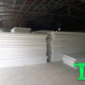 Tấm Panel EPS 3 lớp tôn nền dày 0.45mm + EPS 75mm + tôn 0.45mm
