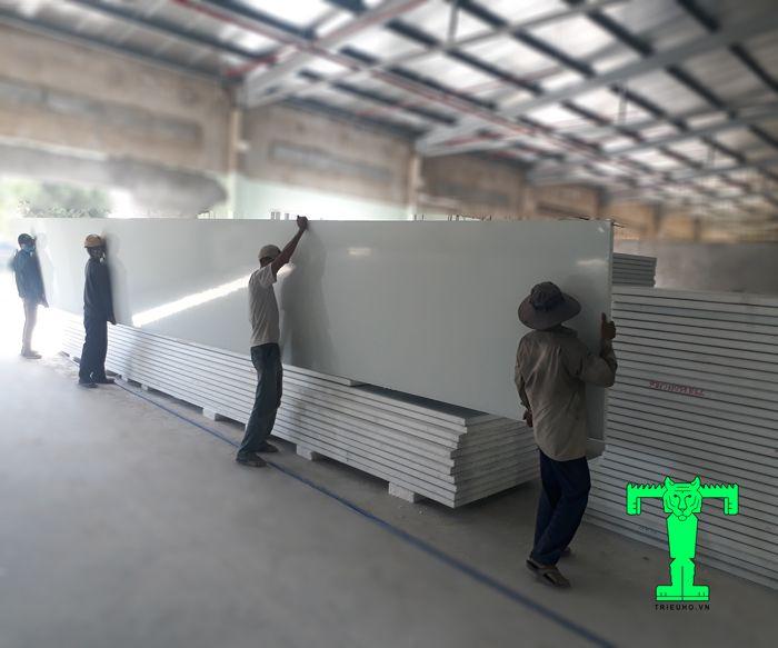Panel chống cháy EPS dày 100mm