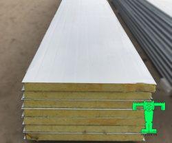 Tấm Panel Glasswool 3 lớp tôn nền dày 0.45mm + Glasswool 50mm 64kg/m3 + tôn 0.45mm