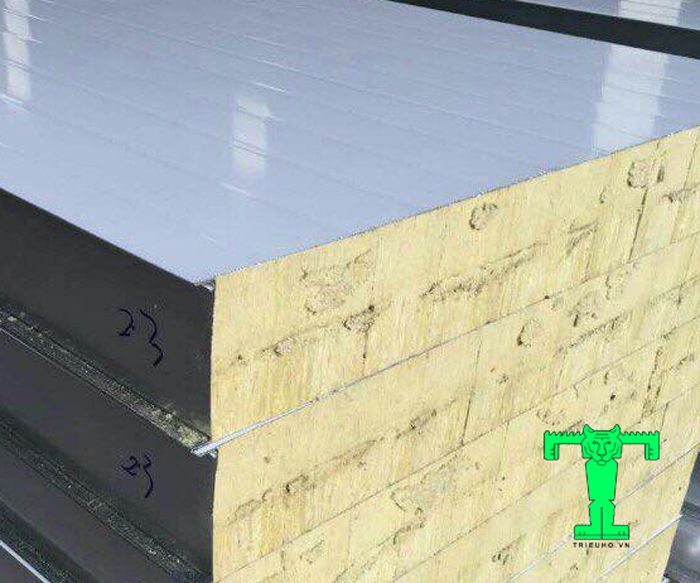tấm Panel Rockwool dày 100mm