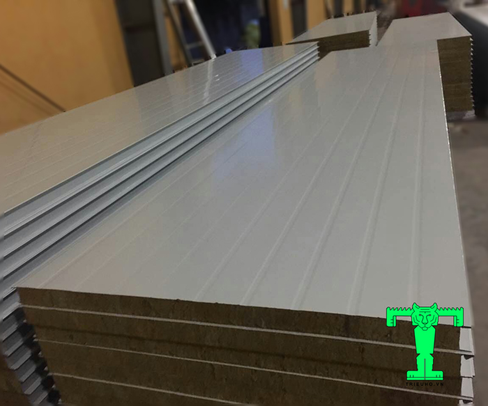 tấm panel rockwool dày 50mm
