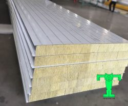 tấm panel rockwool 75mm 80kg