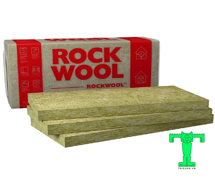Rockwool dạng tấm tỷ trọng 100kg/m3 có độ bền cao nên thời gian sử dụng kéo dài từ 20 – 50 năm