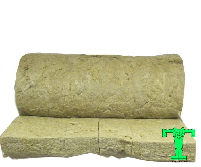 Bông khoáng 80kg/m3 dày 100mm chịu lực tốt, độ bền cao, tuổi thọ lên tới 50 năm