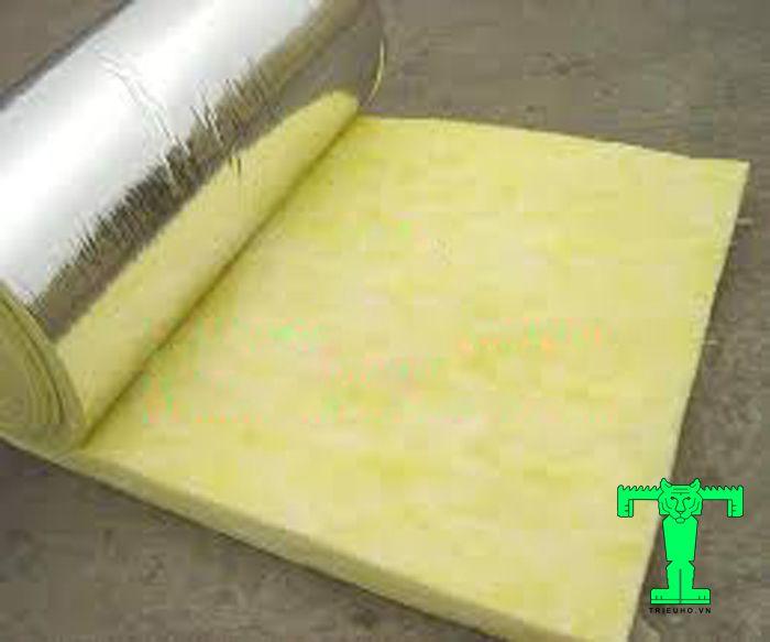 Bông thủy tinh dày 50mm có thể kháng nước, chống ẩm mốc, mối mọt
