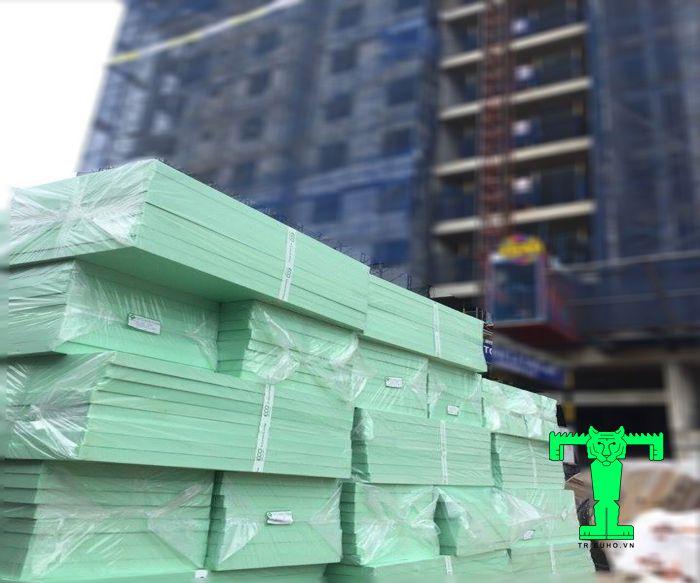 Xốp cách nhiệt XPS được ứng dụng trong nhiều công trình xây dựng