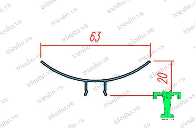 cấu tạo phào C dùng bo góc panel