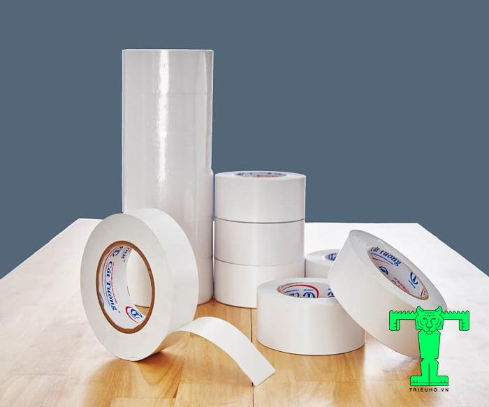 Băng keo hai mặt Cát Tường độ bền cao, sử dụng dễ dàng, nhanh chóng, dễ dỡ bỏ