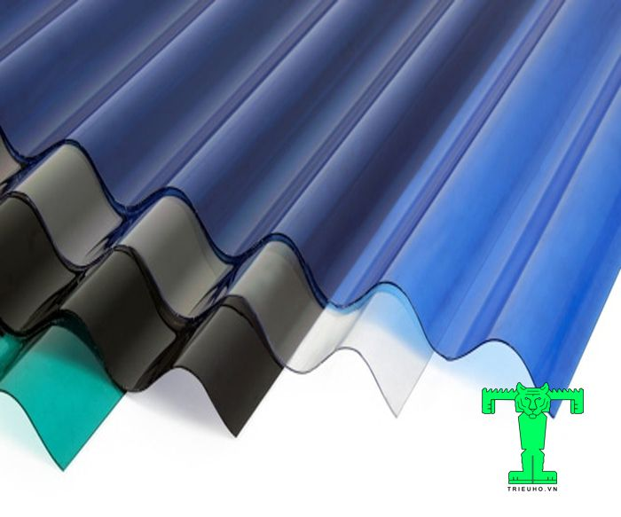 Tấm lấy sáng Polycarbonate này được cấu tạo chính từ những sợi polymer