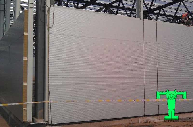 Ứng dụng panel glasswool