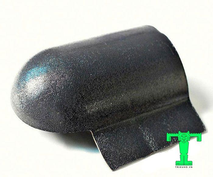 Tấm úp đuôi mái ngói nhựa PVC giống như hình con rùa bò