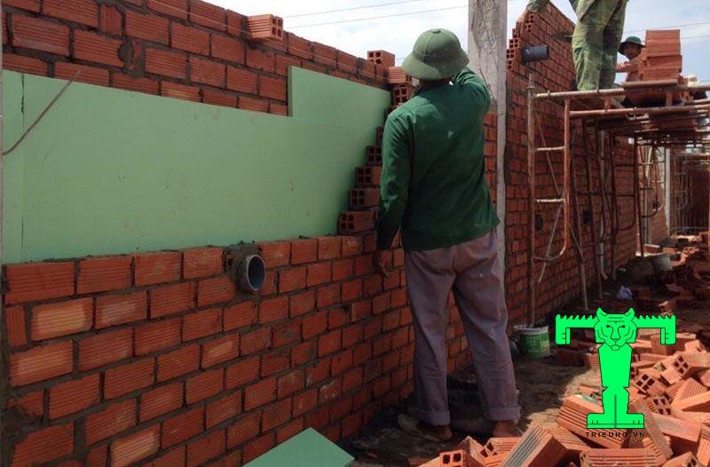 xốp xps chống nóng cho tường