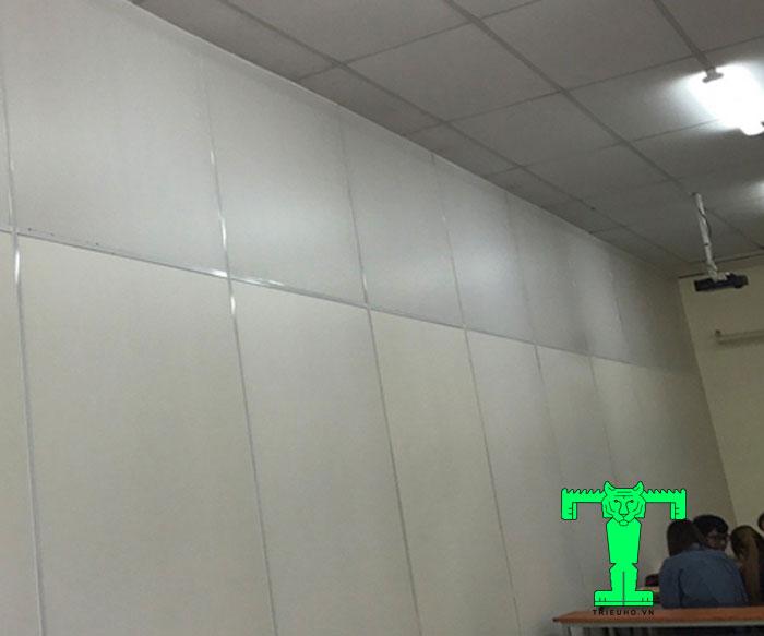 Ván nhựa PVC làm vách ngăn rất hiệu quả và thẩm mỹ cao