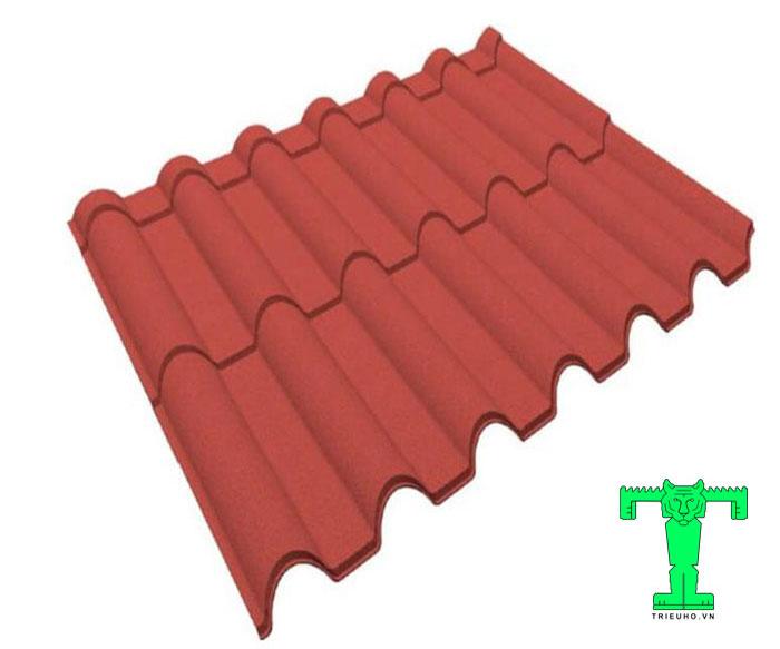 Ngói thép phủ đá có cấu tạo nhiều lớp nên sản phẩm có nhiều ưu điểm nổi bật