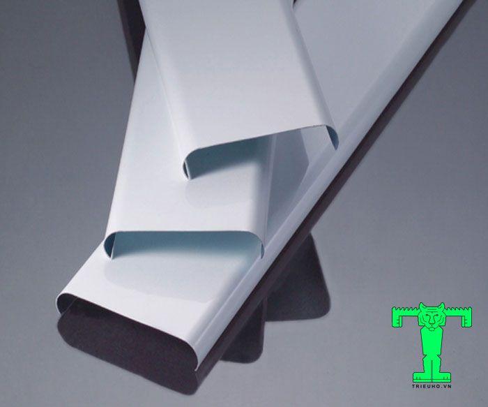 Trần nhôm C85 Shaped dày 0.6mm làm từ vật liệu Aluminum 1100 – 3003 (H24, thép không rỉ)