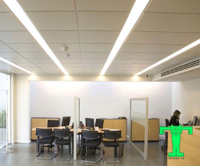 Trần nhôm LAY-IN T-Shaped 600x600mm đáp ứng được chất lượng, thẩm mỹ, giá cả và cả thời gian thi công