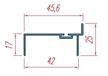 Bo cánh cửa panel 40 - KP02 UN40