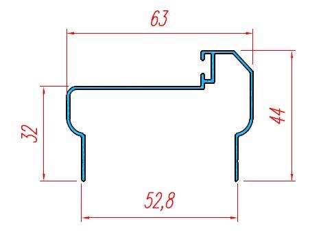 Bo cửa panel KP01-0U50