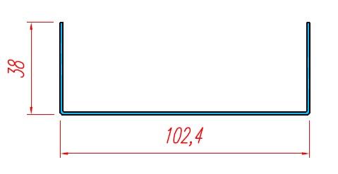 U nhôm - KP03-100T