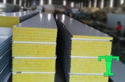 tấm panel vách chống cháy glasswool
