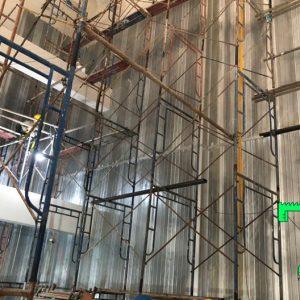 công trình panel soi lỗ tiêu âm 7