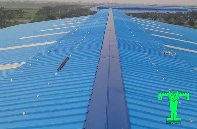 Mái nhà xưởng bình dương