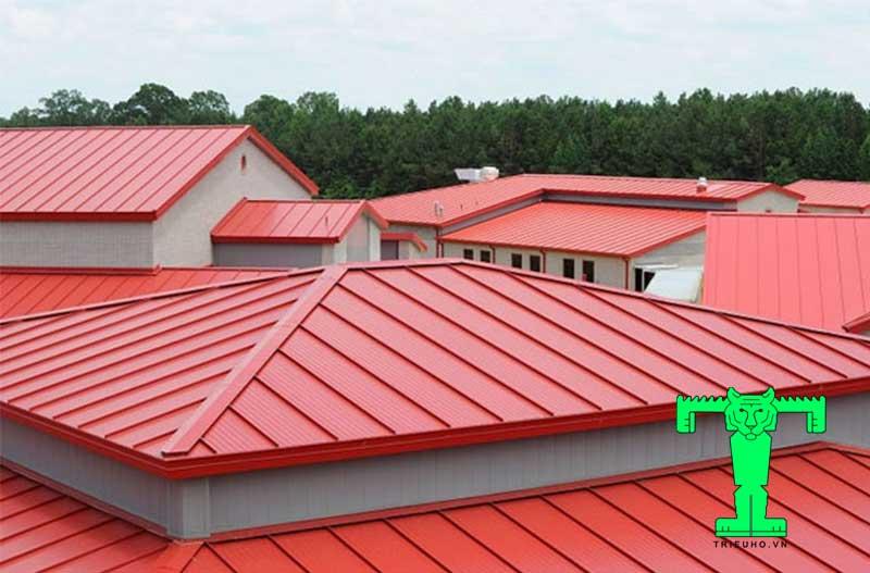 mẫu mái tôn chống nóng đẹp