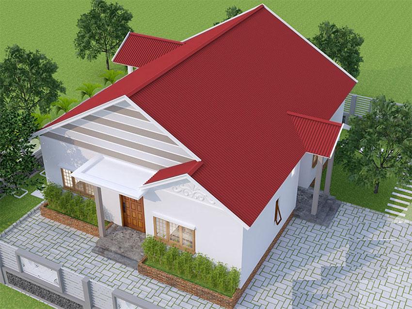 20+ Mẫu mái tôn đẹp cho ý tưởng thiết kế công trình của bạn | Triệu Hổ