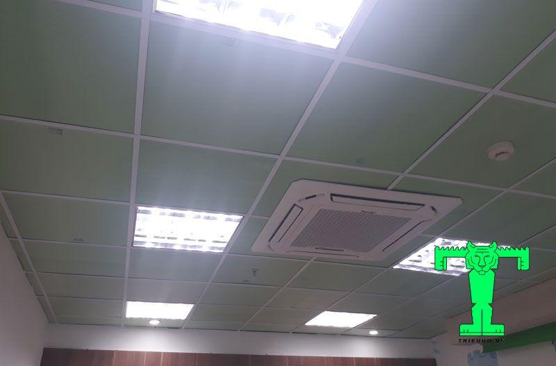 Thi công chống nóng cho trần nhà