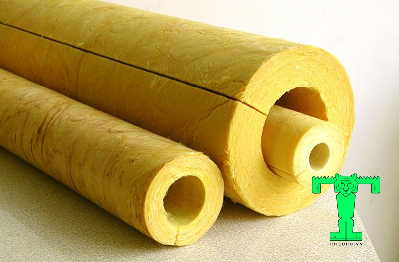 Glasswool dạng ống