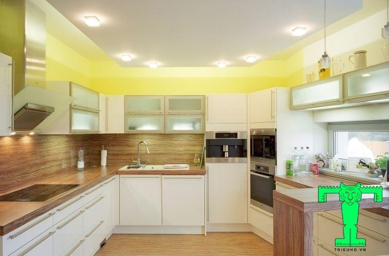 Mẫu 4 - trần đẹp cho phòng bếp