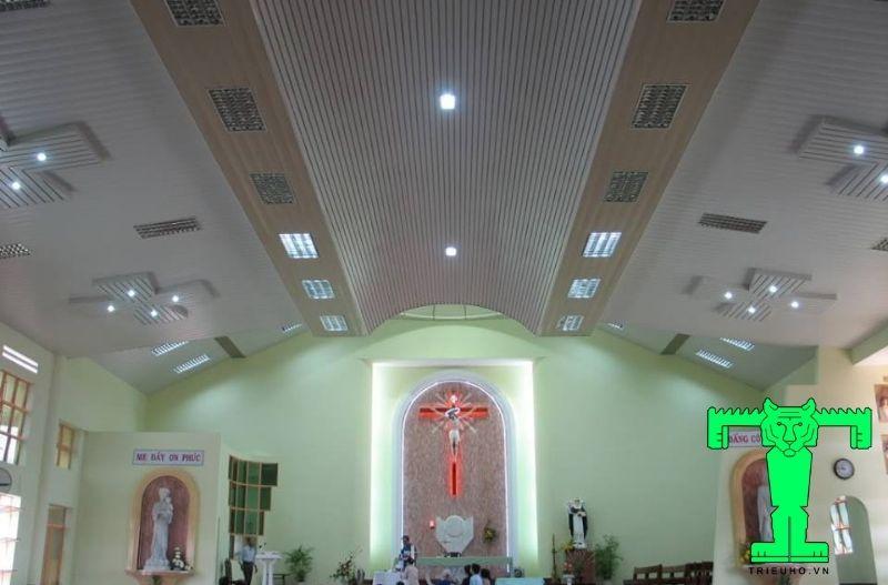 la phông cho nhà thờ giáo xứ An Bình, Q5