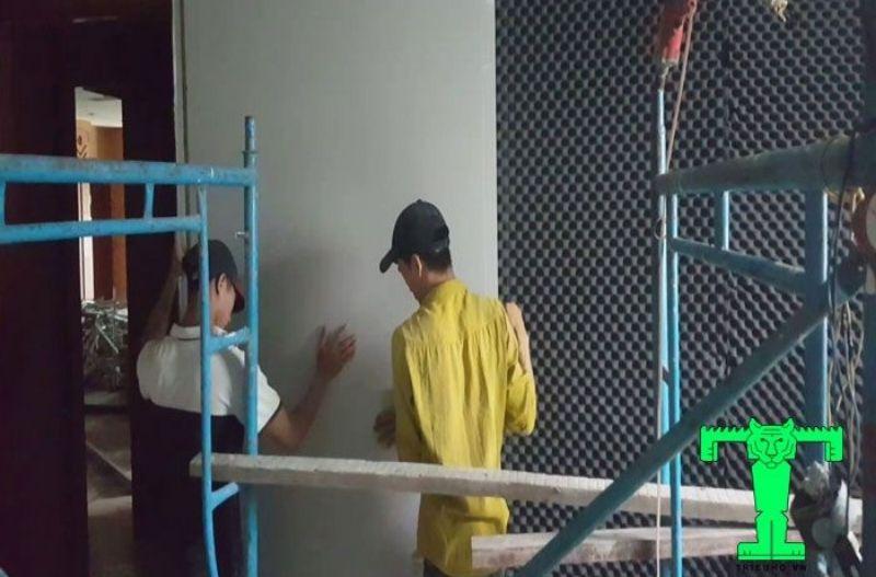 Xốp tiêu âm tường căn hộ, cao ốc