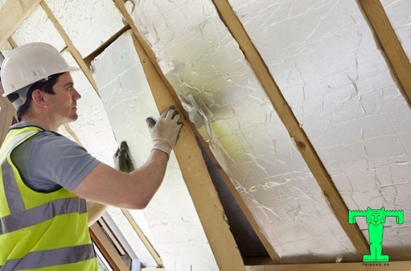 Ứng dụng thi công cho trần nhà, chống cháy rất hiệu quả