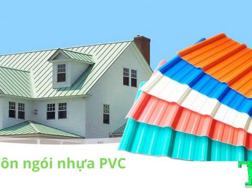Tôn ngói nhựa PVC